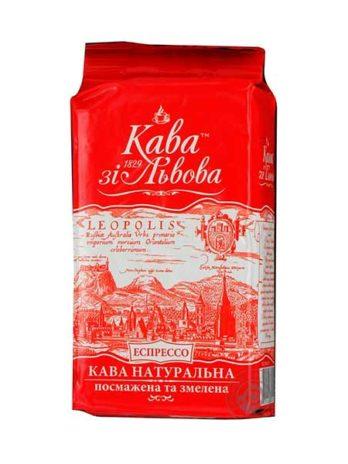 Кава зі Львова Львівське Єспрессо мелена
